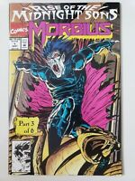 MORBIUS #1 (1992) MARVEL COMICS SPIDER-MAN! RISE OF THE MIDNIGHT SONS! NEW MOVIE