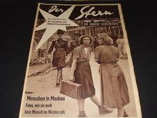 "Brigitte Bardot … on back cover … german magazine ""Stern"" … 1955"