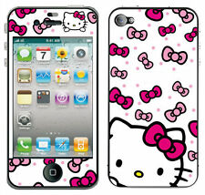 Pink Fascias, Stickers and Decals for iPhone 4s