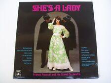 FRANK POURCEL - SHE'S A LADY - RARE OZ PRESSING LP