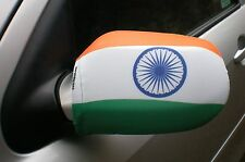 Voiture Rétroviseur Chaussettes drapeaux, coques, Haut les drapeaux! Inde