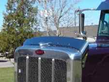 Peterbilt 388 389 Stainless Steel Bug Deflector 2007+