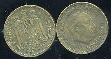 ESPAGNE  1 pesetas 1947       (51)