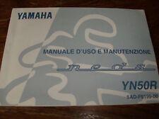 LIBRETTO USO E MANUTENZIONE YAMAHA NEOS 50