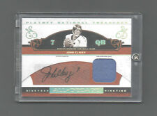 2007 PLAYOFF NATIONAL TREASURES ALL-DECADE JOHN ELWAY PRIME JERSEY AUTO SP /25