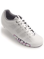Giro Empire ACC Cycling Shoe Reflective Size Womens 38.5 US 7 NEW White UK 5