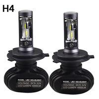 2pcs S1 H4 Car LED Headlight Bulbs 50W 6000K Headlamp Fog Front Light UK
