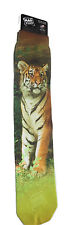 TIGER Sublimation Socks Wild Habitat Adult One Size Fits Most USA Made Animal