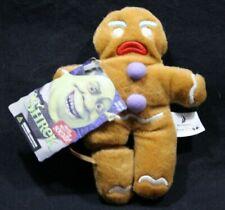 McFarlane Toy GINGERBREAD MAN (Mad) from Shrek Dreamworks PLUSH NEW!! RARE.