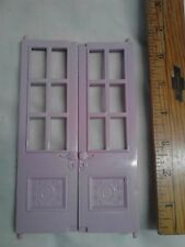Fisher Price Loving Family Twin Time Replacement Pink Balcony French Doors
