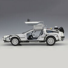 DeLorean Back To The Future Part 2 Time Machine 1/24 Scale Car Model Diecast NIB