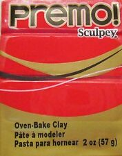 Sculpey PREMO - Polymer Clay - 57g - CADMIUM RED