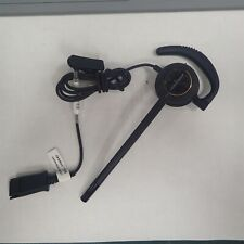 Plantronics EncorePro HW540 Mono Ear Hook Corded Quick-Disconnect Office Headset