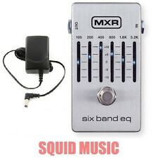 MXR M-109S Six Band Graphic EQ Equalizer M109S Pedal 6 BAND ( FREE POWER SUPPLY)