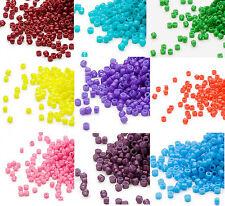 Miyuki Delicas 11//0 Teel Blue Crystal AB Seed Beads DB-079