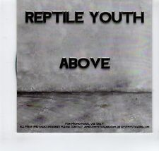 (GR411) Reptile Youth, Above - DJ CD