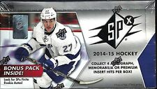 2014-15 SPx Factory Sealed Hockey Hobby Box   Wayne Gretzky Shadowbox AUTO ???