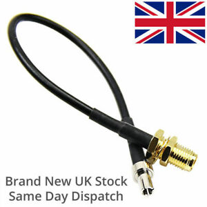 SMA Female TS9 Pigtail 20cm Huawei MiFi Router 4G/5G CPE Pro LTE Antenna Adapter