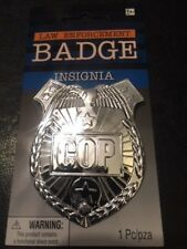 Police Badge - Perfect for Cosplay, Dress Up, Halloween, etc. - Cop Badge