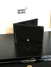 Montblanc Card Holder Wallet 6cc Money Clip