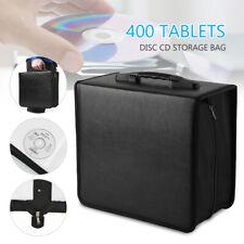 400 Disc CD DVD Organizer Holder Storage Case Bag Wallet Album Media Video Case