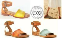 Eos Shoes Portugal Comfort low heel leather Sandals EOS Footwear List Sale