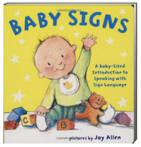 Baby Signs by Joy Allen (Board Book)  FREE shipping $35