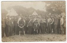 Royal Fusiliers, 2nd City of London Regiment, Aldershot, 1908, old RP PC,G&P#102
