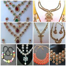 South Indian Different Style and Design Wedding Jewelry Ethnic Set Variations