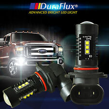 DuraFlux 6000K White 9005 HB3 CEEE High Power 80W LED Fog Driving Light Bulbs US
