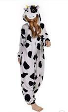 Cow Soft Sloth Kigurumi Onesie0 Pajama Animal teens Holloween Costume