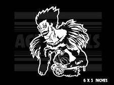 Deathnote - Ryuk Apple -  Anime - Laptop Car Vinyl decal sticker