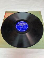"""Will Osborne Remember Me?/ Am I In Love? DECCA 78RPM 10"""" Vinyl"""