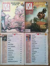 Lot 4 USA magazine numero 21/22 - 38 - 46 - 47