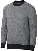 Nike SB Mens Everett Long Sleeve Crew Neck Sweater Shirt Heather Grey 938345 New
