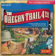 The Oregon Trail: 4th Edition PC CD-Rom 1999 Win Mac Mattel 3 CD Set