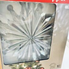 Gemmy Kaleidoscope Tree Topper Christmas Led Projection Light Lit Starburst New