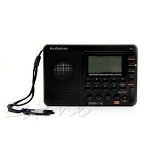 Digital Tuning LCD Receiver TF MP3 REC Player Portable AM FM SW Full Band Radio