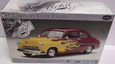 1949 Mercury Club Coupe Testors 1:43 Die Cast Model Kit 061217DBT5