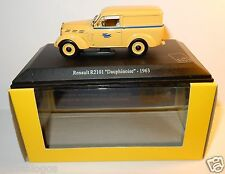 UNIVERSAL HOBBIES RENAULT R 2101 DAUPHINOISE 1963 POSTES POSTE PTT 1/43 LUXE BOX
