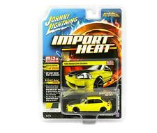 Johnny Lightning 1/64 Mijo 1998 Honda Civic Yellow Carbon Hood JLCP7174 JDM