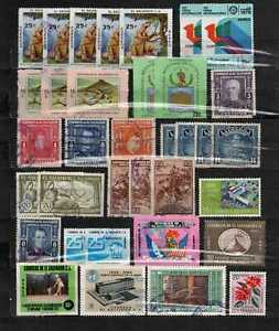 El Salvador stamp lot 20 used  in good condition used as seen combine shipping.