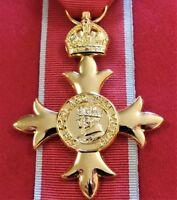 OBE CIVILIAN WW2 AUSTRALIAN ORDER OF THE BRITISH EMPIRE MEDAL REPLICA ANZAC