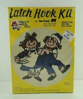 Vintage Sew Simple Latch Hook Kit Raggedy Ann Andy New Sealed Free Shipping