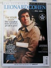 New UNCUT 122 Page LEONARD COHEN Ultimate Music Guide RARE PHOTOS Complete STORY