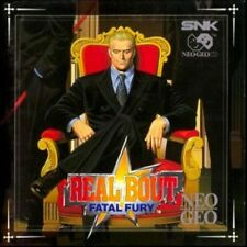 USED  REAL BOUT FATAL FURY SNK NEO GEO CD NO  MVS AES POCKET JAPAN
