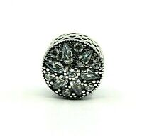 AUTHENTIC PANDORA RADIANT BLOOM CHARM WITH CUBIC ZIRCONIA