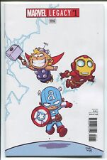 MARVEL LEGACY #1 - SKOTTIE YOUNG BABY VARIANT COVER - MARVEL COMICS/2017