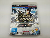 Mint Disc Playstation 3 Ps3 Time Crisis Razing Storm Free Postage