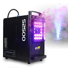 DJ Smoke Machine DMX Colour LED Lights 2500W High Output Fog Disco Club Party